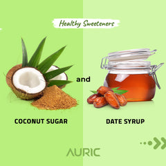 Coconut jaggery vs date syrup