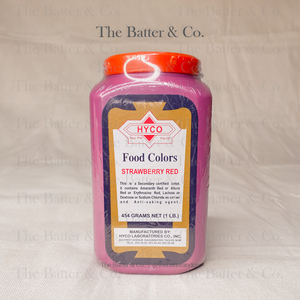 Powdered Food Color - Strawberry Red
