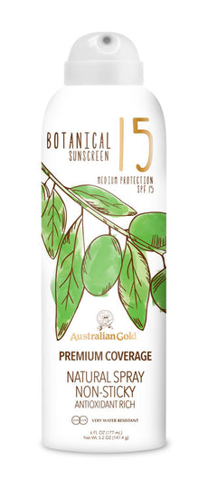 15 SPF Botanical Sunscreen Spray
