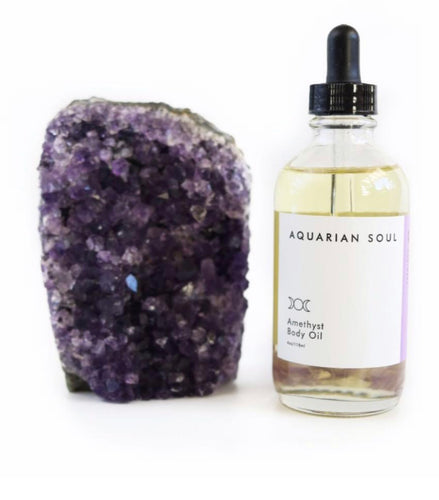 Amethyst Body Oil