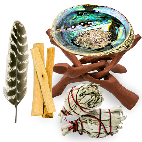 Abalone Shell Ritual Kit