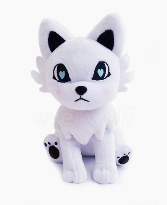Snowy White Wolf Plush
