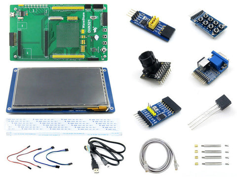 DVK521 Development Board Baseboard + LCD + Module Kit for Cubieboard2 Cubieboard