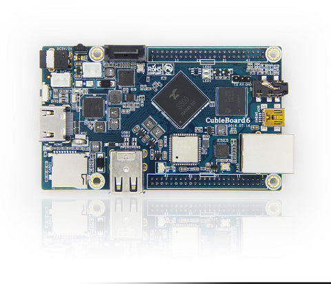 CubieBoard6 with S500 main chip ARM Cortex-A9 Quad-Core Development Board