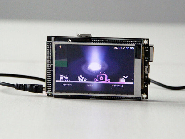 "3.5"" CubieScreen Touch LCD Panels for CubieBoard 1 CubieBoard 2 TFT 800x480"