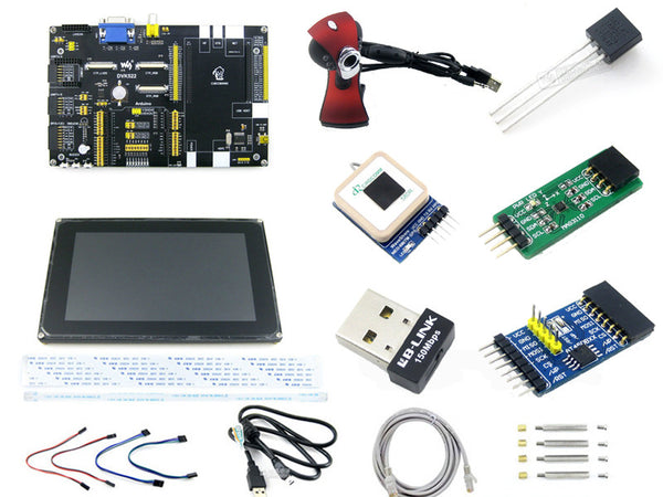 "DVK522 Kit for Cubieboard2 Cubieboard A10 - Arduino Baseboard + 7"" LCD + Modules"