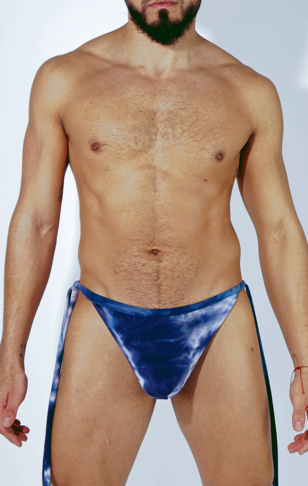 AZUL TIE UP THONG