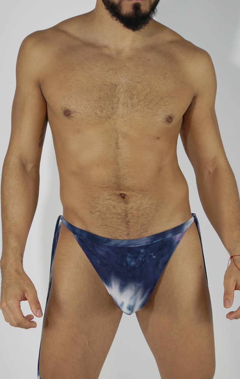 AZUL TIE UP G STRING