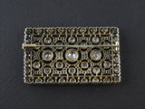 Buccellati Art Déco diamond plaque brooch