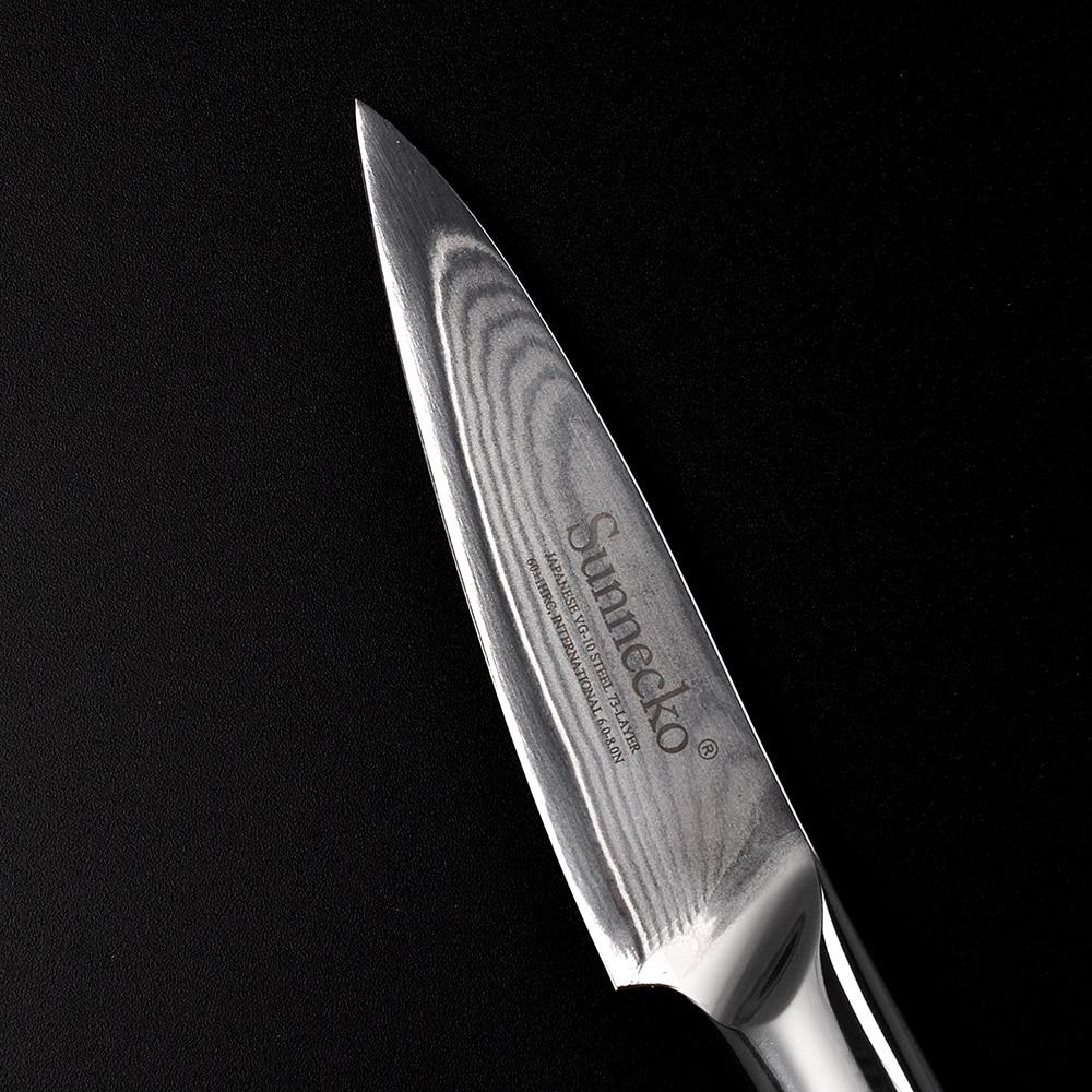 3.5-inch Japanese Paring Knife (Damascus Steel)