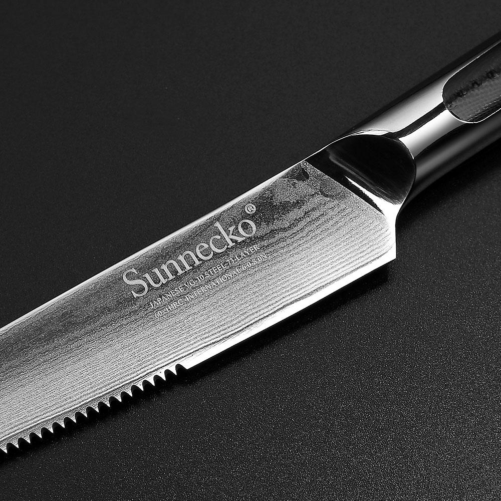 5-inch Steak Knife (Japanese Damascus Steel)