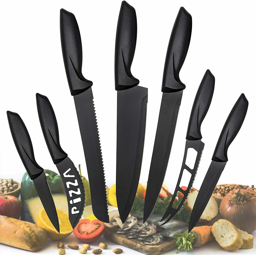 7 Pc Stainless Steel Knife Set