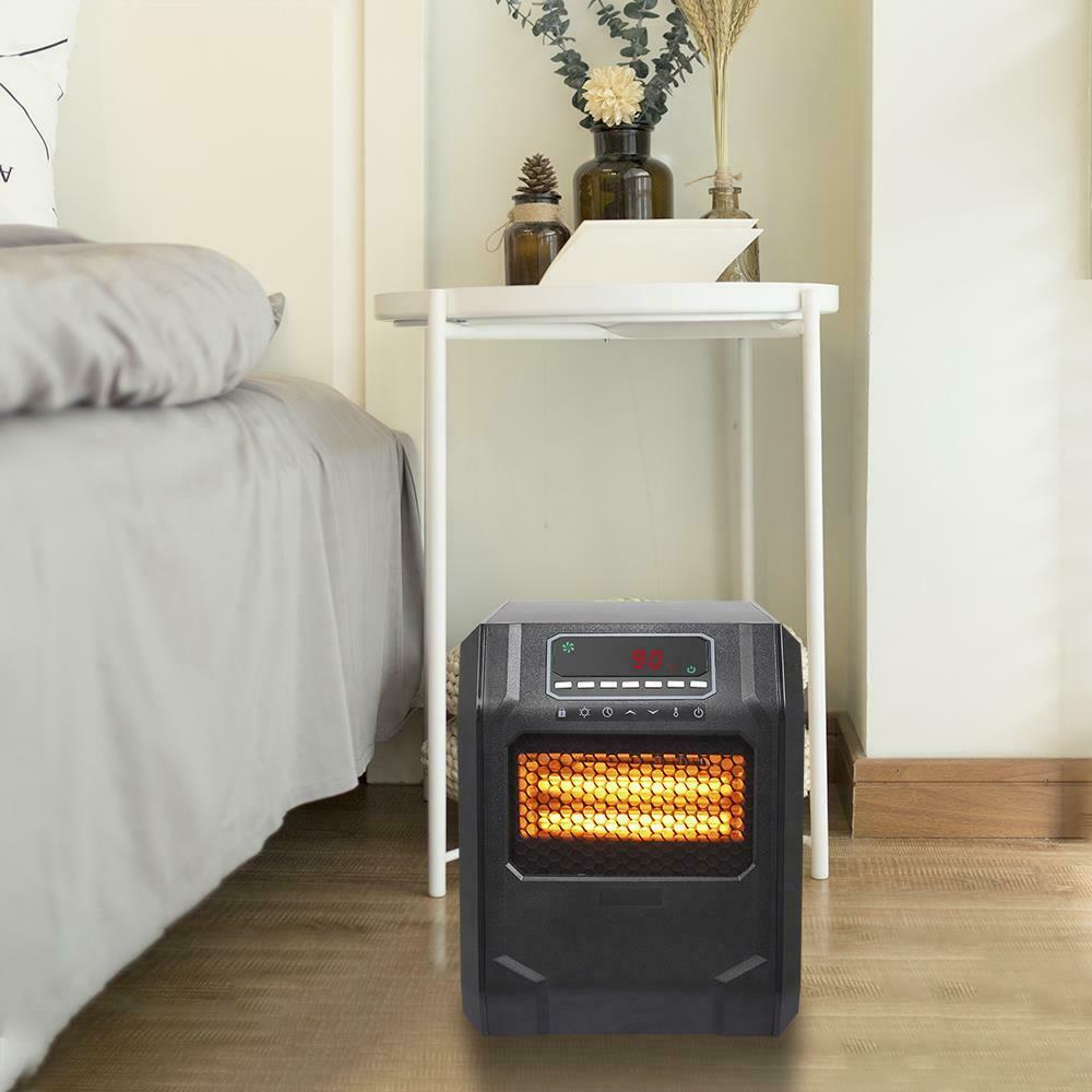 4-Element Electric Room Heater