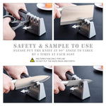 Premium 4-Stage Chef's Knife Sharpener