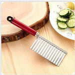 Stainless Steel Crinkle Cutter Knife