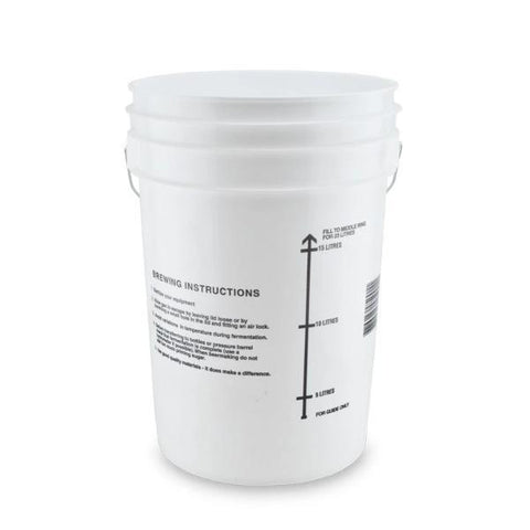 24L Fermenting Bucket with Lid and Airlock