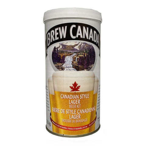 Brew Canada Blonde Lager Kit