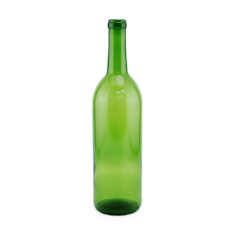 Case of 12 Green 750ml Bordeaux Bottles
