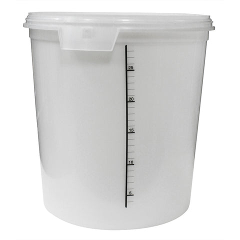 Ergopac Clearbrew Pail 32L with Lid