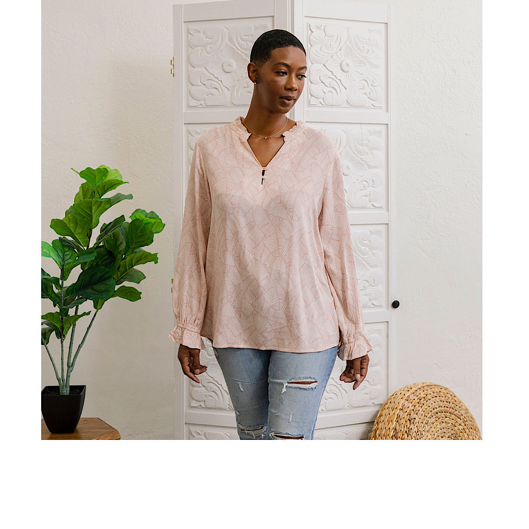 Blush Blouse - MNMAL