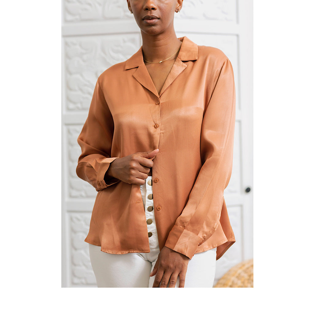 Copper Button-Up - MNMAL