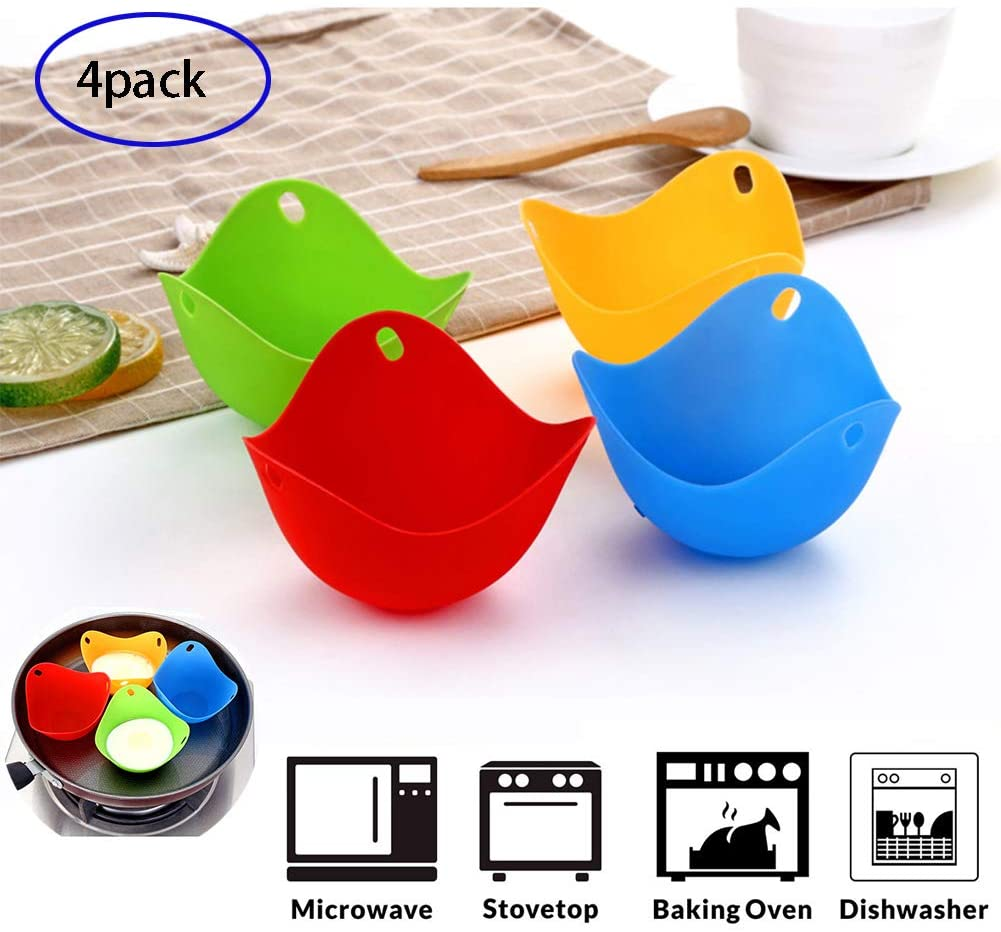 Free Shipping 2 PCS All-purpose Foldable Silicone Cooking Pocket