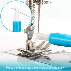 Ultimate Needle Inserter And Threader For Sewing Machines