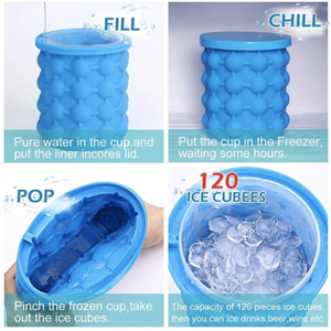 Space-Saving Ice Cube Maker