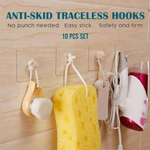 Reusable Anti-skid Traceless Hooks (10 PCS)