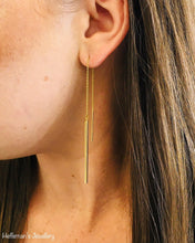 Load image into Gallery viewer, 10k Gold Dangle Earrings