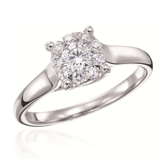 Bouquet® by Max Strauss Engagement Ring