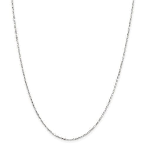 Sterling Silver 1.4 Mm Polished Rolo Chain