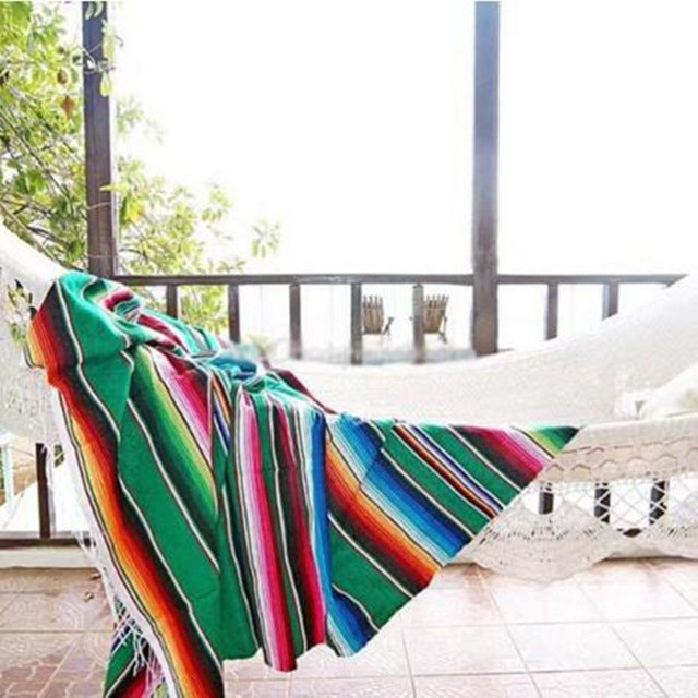 Cotton Knit Beach Towel