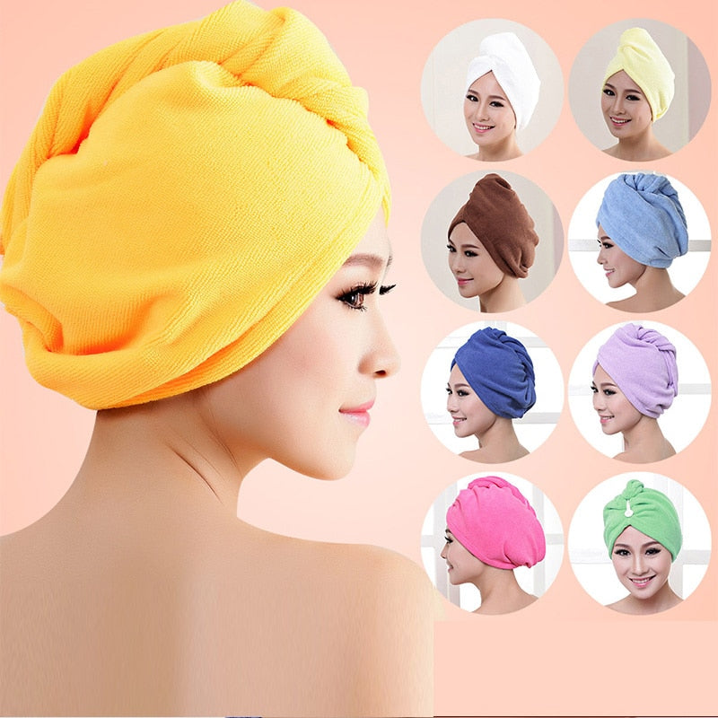 Hair Dry Cap Salon Towel