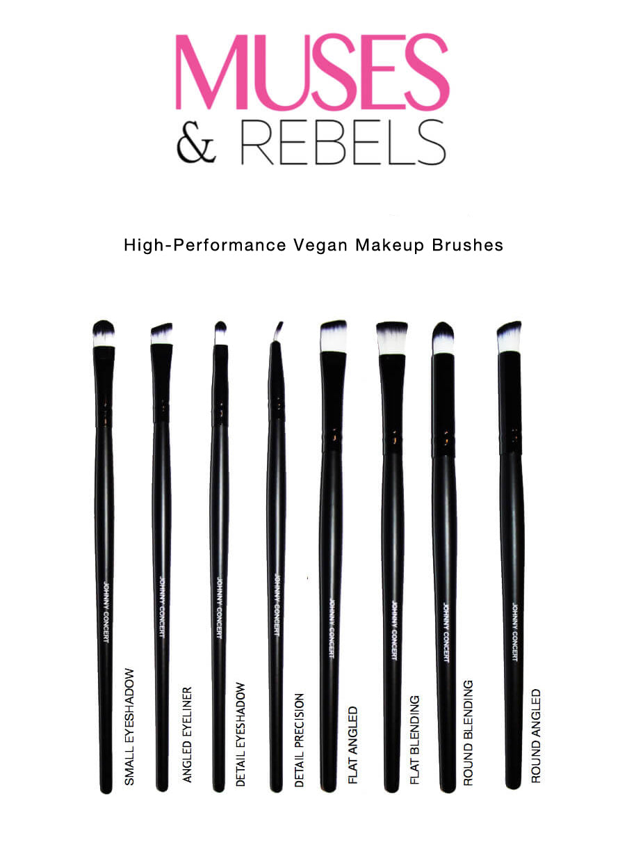 MUSES & REBELS BRUSH SET