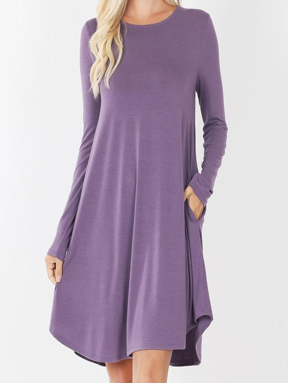 Lily A Line Swing Dress