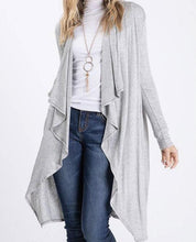 Load image into Gallery viewer, Habiba Soft Long Cardigan