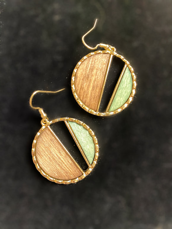 Milieu Earth Earrings