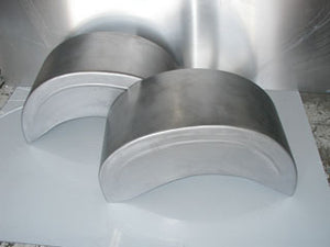 CHEVY 55/57 COMPLETE WHEEL TUBS