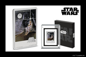 Don't Miss Out – New Star Wars™: A New Hope Poster Coin