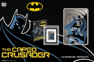 Incredible THE CAPED CRUSADER™ Coin Collection Launches Today
