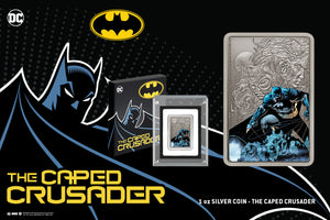 BATMAN takes Centre Stage in THE CAPED CRUSADER™ Coin Collection