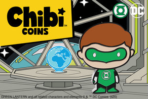 Chibi™ Coin Collection Continues with GREEN LANTERN™