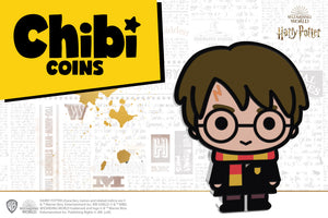 HARRY POTTER™ Pure Silver Chibi™ Coin Revealed!