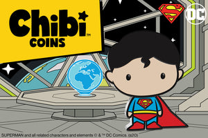 The Last Son of Krypton Gets his Own Chibi™ Coin!