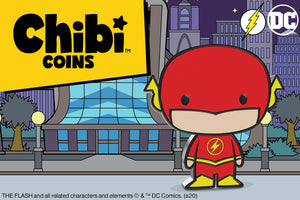 New Chibi™ Coin for the Fastest Man Alive - THE FLASH™