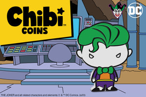 Chibi™ Coin Collection Continues with its first DC Super-Villain!