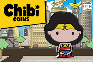 Third Coin Revealed in the Chibi™ Coin Collection - WONDER WOMAN™