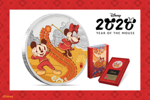 Enjoy Prosperity with our Disney 2020 Year of the Mouse Collection