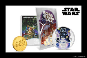 Gold & Silver Coins Commemorate Star Wars: The Empire Strikes Back™ 40th Anniversary